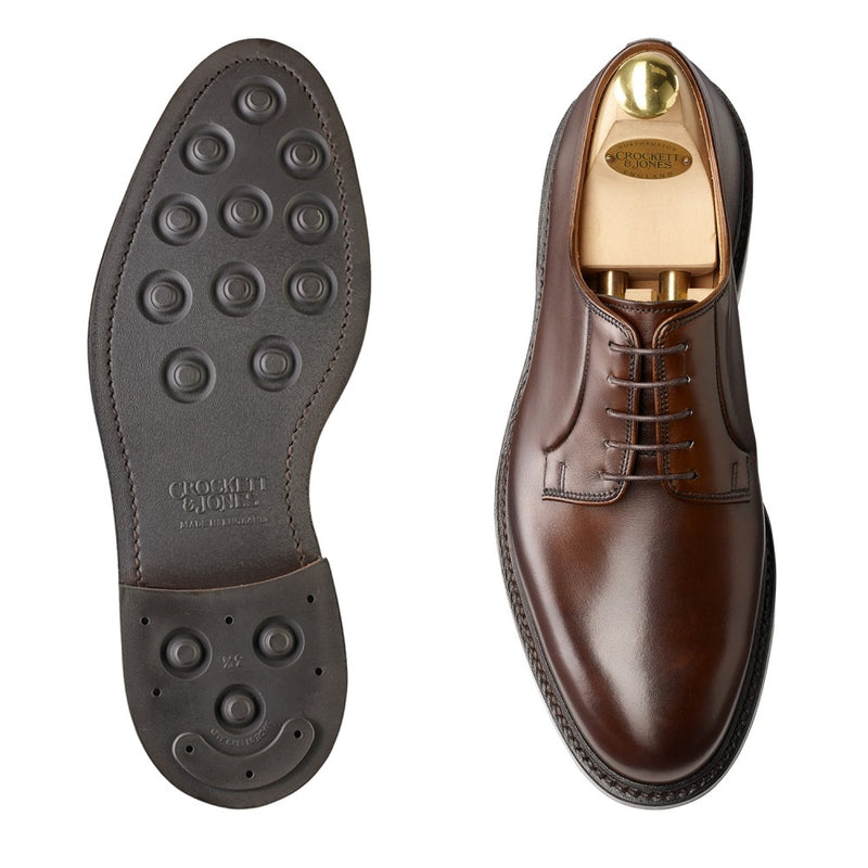 Lanark III Dark Brown Burnished calf, Crockett & Jones