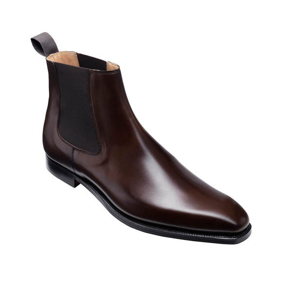 Lingfield Dark Brown Burnished Calf