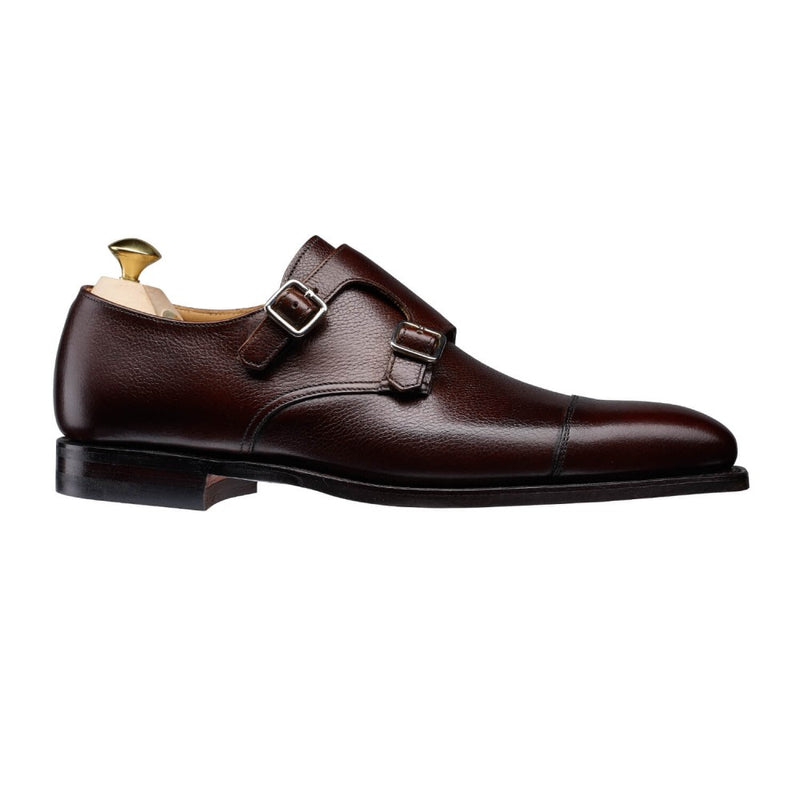 Lowndes Dark Brown Pebble Grain, Crockett & Jones