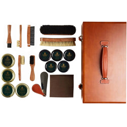 Shoe care box luxury Crockett & Jones