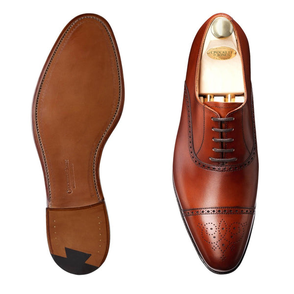 Malton Chestnut Calf, Crockett & Jones