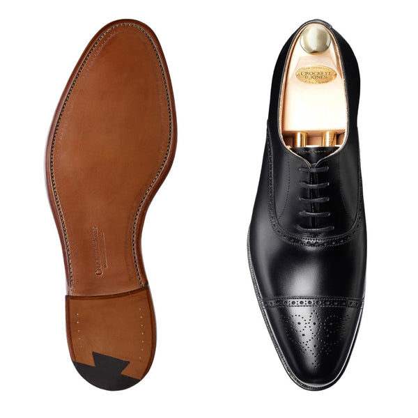 Malton Black Calf, Crockett & Jones