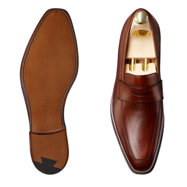 Merton Beechnut Burnished Calf, Crockett & Jones