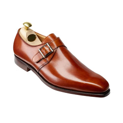 Monkton Chestnut Burnished Calf G - Vidd, Crockett & Jones