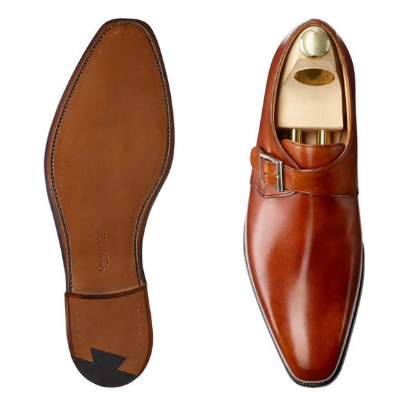 Monkton Chestnut Burnished Calf G - Vidd