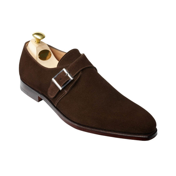 Monkton Dark Brown Calf suede