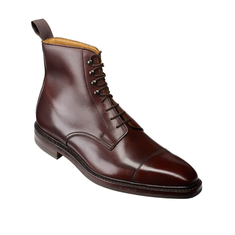 Northcote Dark Brown Wax Calf, Crockett & Jones