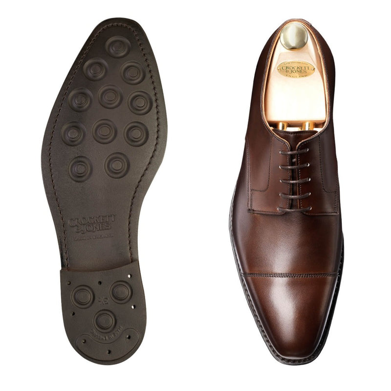 Norwich Dark Brown Burnished Calf