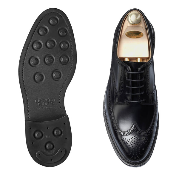 Pembroke Black Calvary Calf, Crockett & Jones