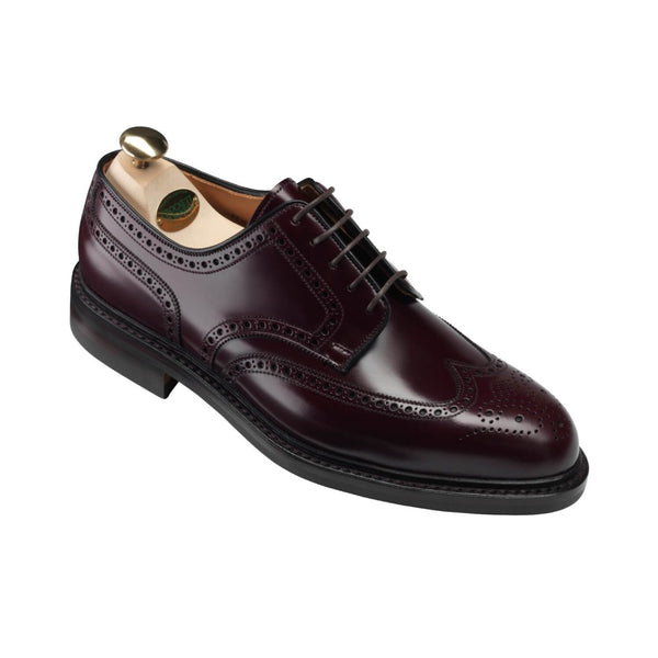 Pembroke Burgundy Calvary Calf, Crockett & Jones