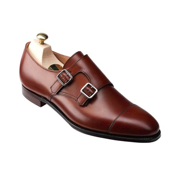 Ruby Chestnut Burnished Calf, Crockett & Jones