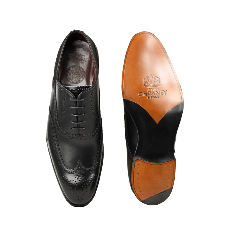 Sandringham Black Calf, Joseph Cheaney & Sons