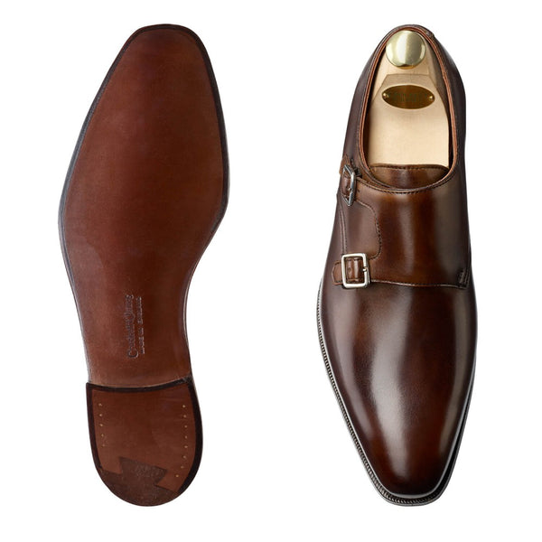Seymour III Dark Brown Antique Calf, Crockett & Jones