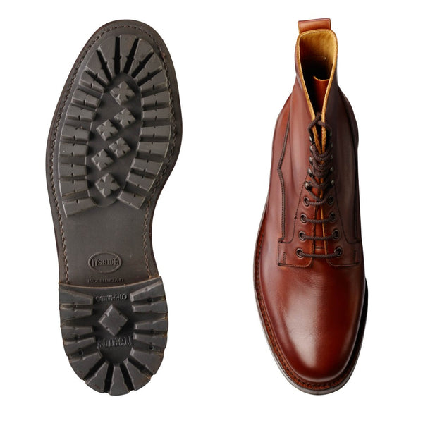 Snowdon Dark Oak Wax Hide, Crockett & Jones
