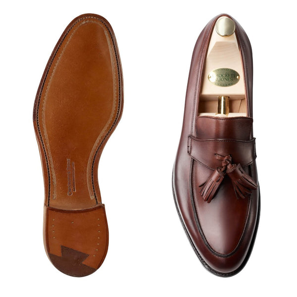 Sophie II Chestnut Burnished Calf, Crockett & Jones