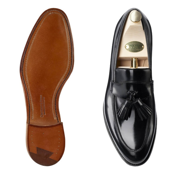 Sophie II Black Boned Calf, Crockett & Jones