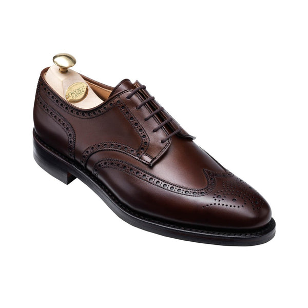 Swansea Dark Brown Calf, Crockett & Jones