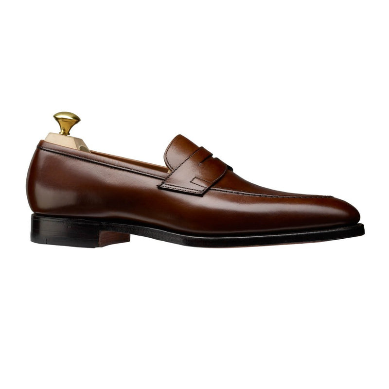Sydney Dark Brown Burnished Calf, Crockett & Jones