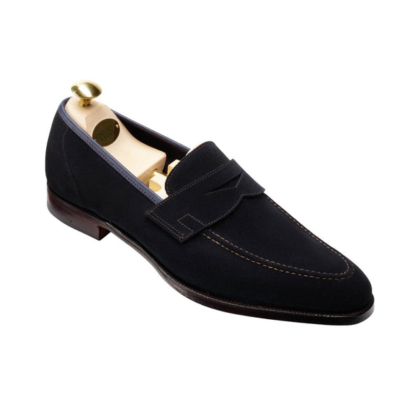 Teign Navy Suede, Crockett & Jones