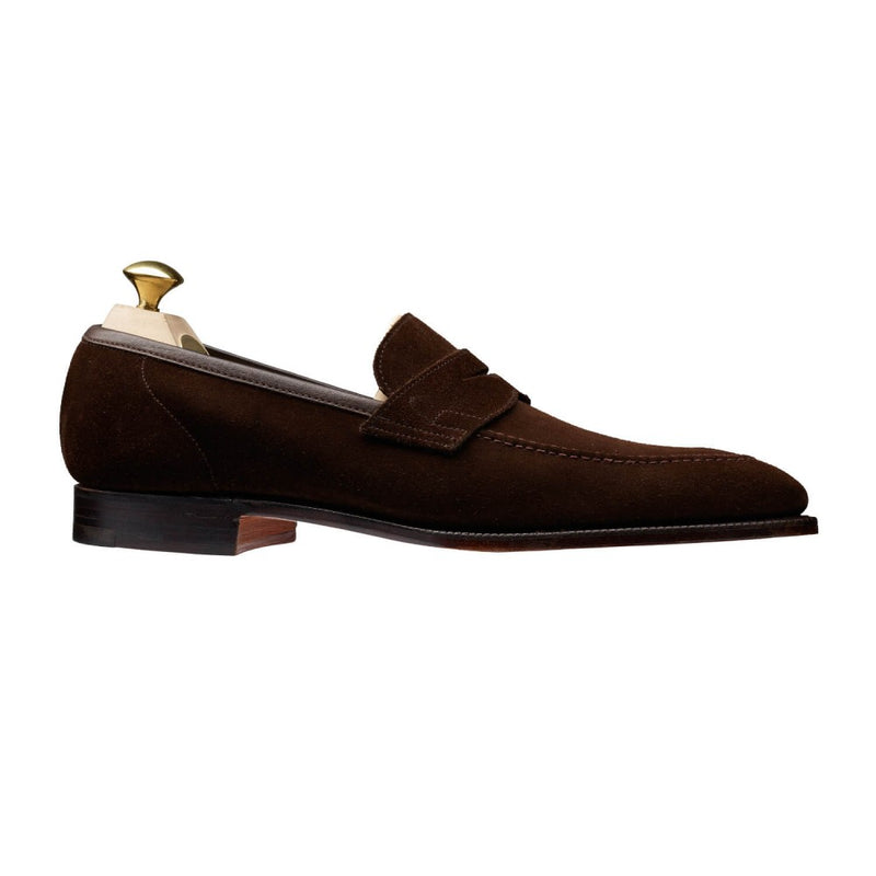 Teign Dark Brown Suede, Crockett & Jones