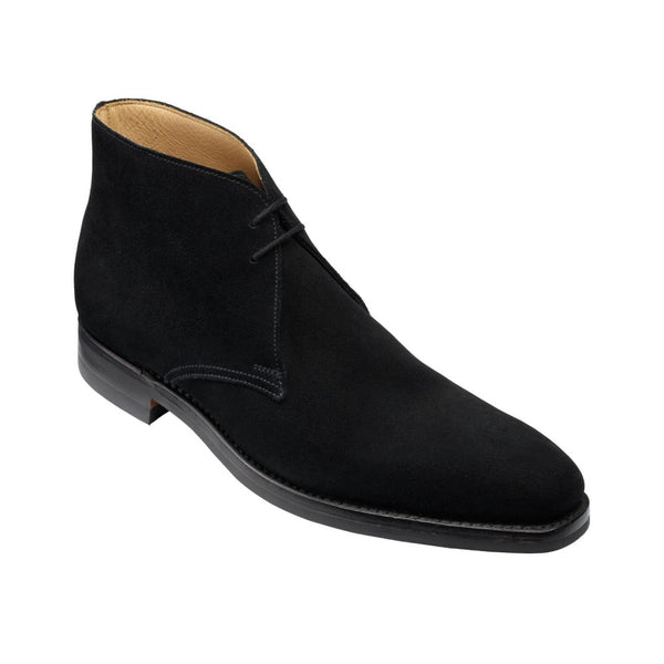 Tetbury Black Suede, Crockett & Jones