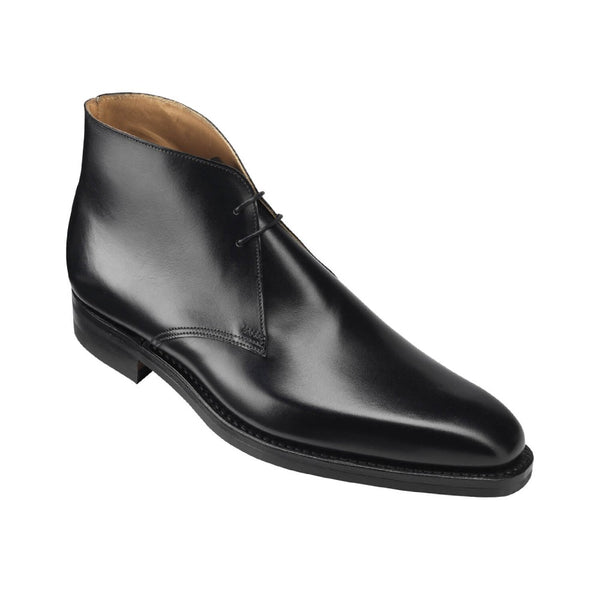 Tetbury black wax calf, Crockett & Jones
