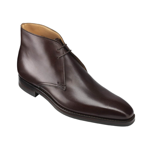 Tetbury dark brown wax calf, Crockett & Jones