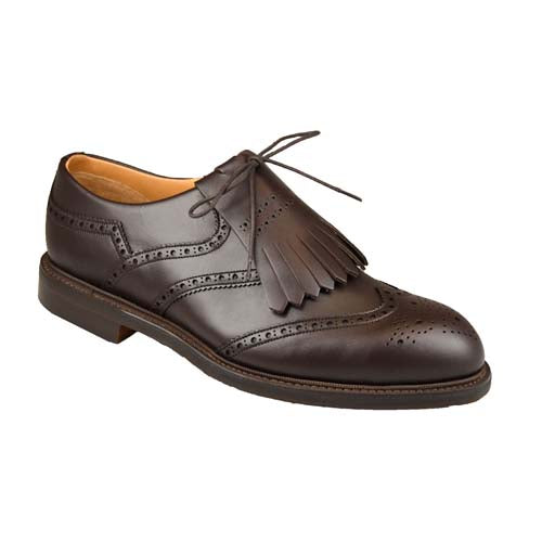 Turnberry Golfsko Dark Brown Calf