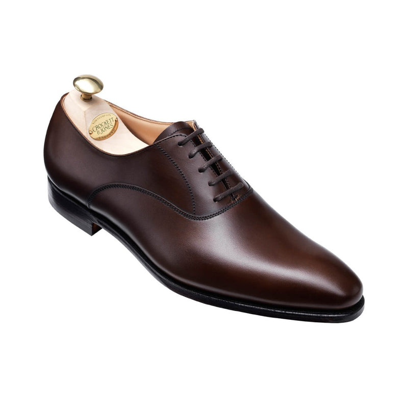 Wembley dark brown burnished calf, Crockett & Jones