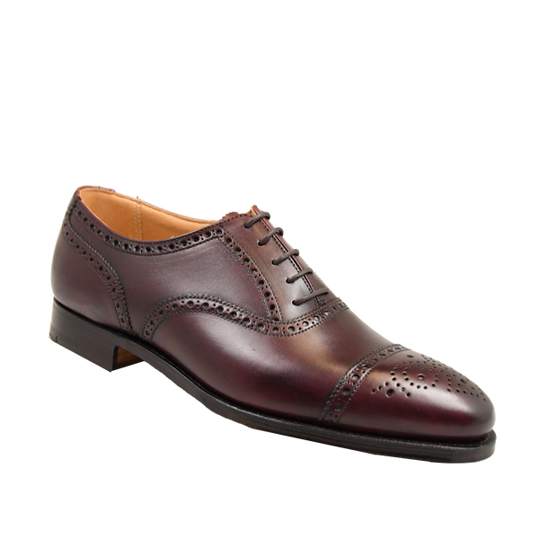 Westfield Burgundy Calf, Crockett & Jones