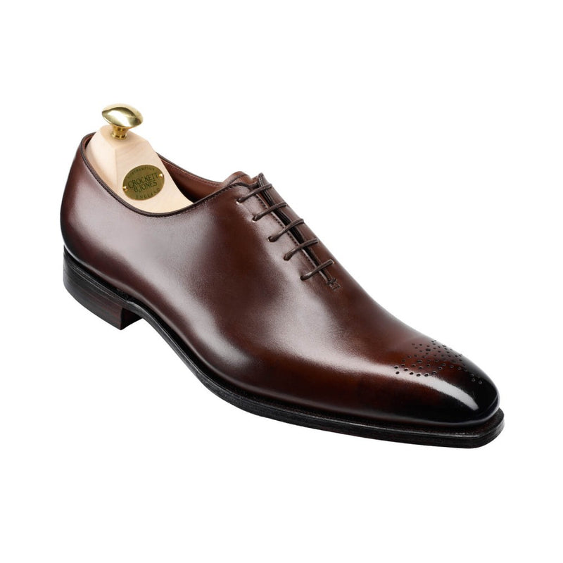 Weymouth II Dark Brown Antique Calf, Crockett & Jones