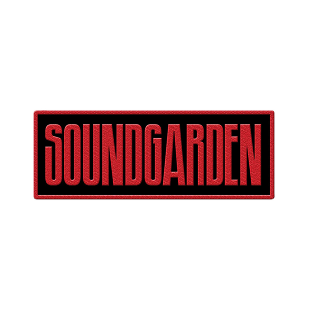 Soundgarden Type Logo Patch