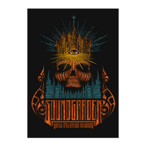 Special Edition Foil Vintage Soundgarden at The Showbox Poster