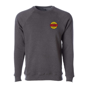 Sawblade Carbon Embroidered Crewneck Sweater