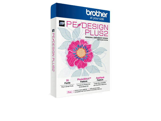 Brother PE DESIGN PLUS2 HSM software