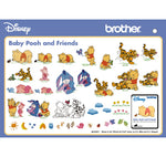 Brother BLEC18D BABY POOH & FRIENDS