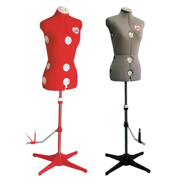 Singer Dress Model Adjustable Mannequin 150 Red