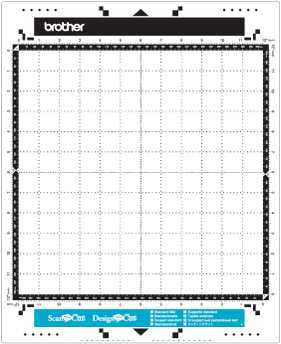 CAMATLOW12 Fabric ScanNCut - low tack mat