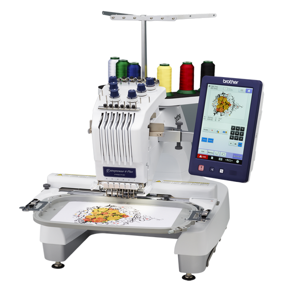 PR670EC Commercial embroidery machine