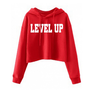 Red Womens Level Up Jumper