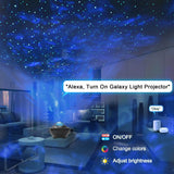 Smart Galaxy Projector, WiFi Night Light Star Projector Galaxy Nebula Cloud Works with Alexa Google Home - Elecstars Capturing Stars in the Dream