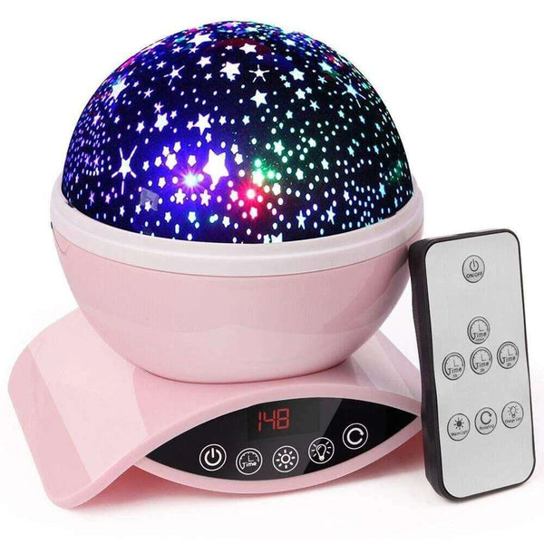 Table Lamp & Galaxy Projector Under $30