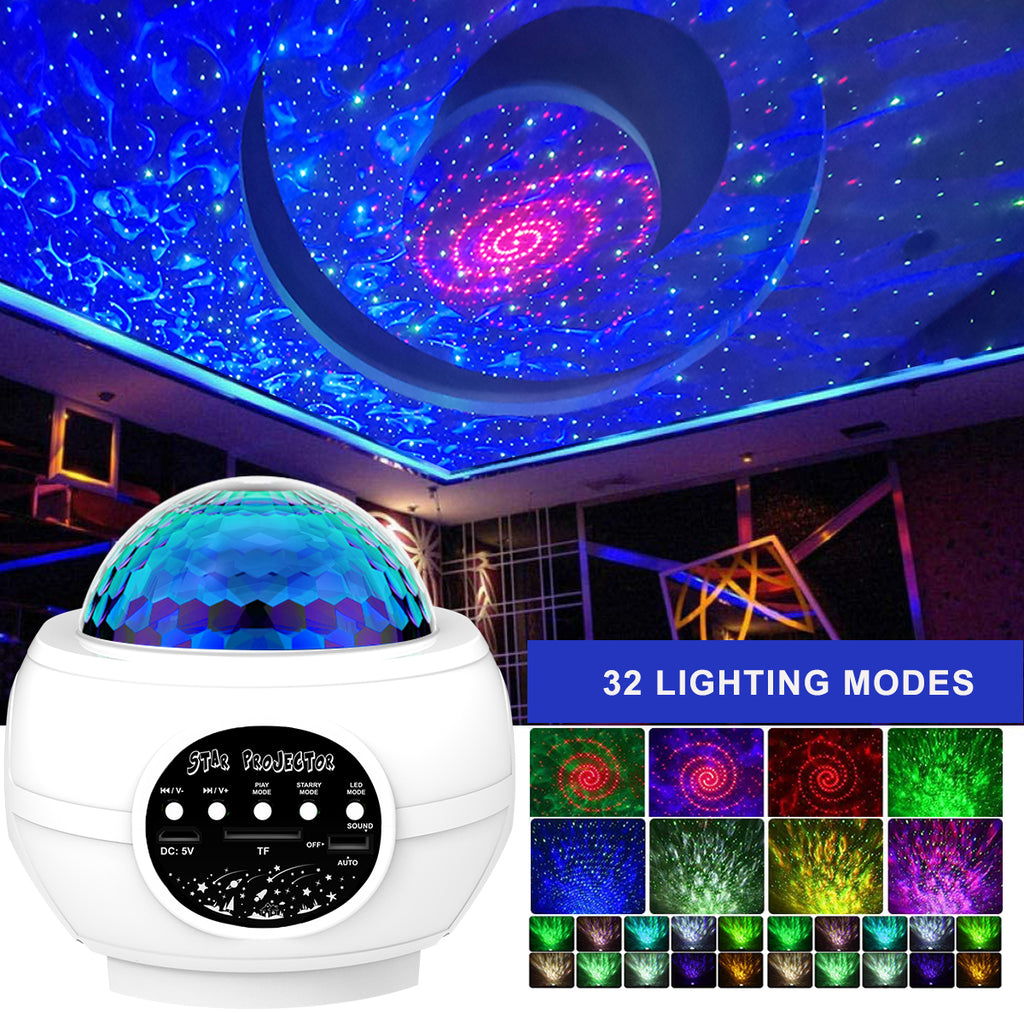 Star Projector Galaxy Light Projector for Bedroom Sky Night Light Projector Large Area Projection - Elecstars Capturing Stars in the Dream