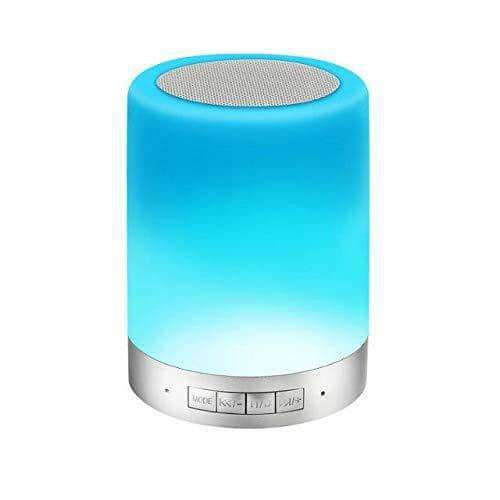 Touch Lamps Bluetooth Speakerphone with Smart Music Player Dimmable Nighttime Sleep Aid - Elecstars Capturing Stars in the Dream