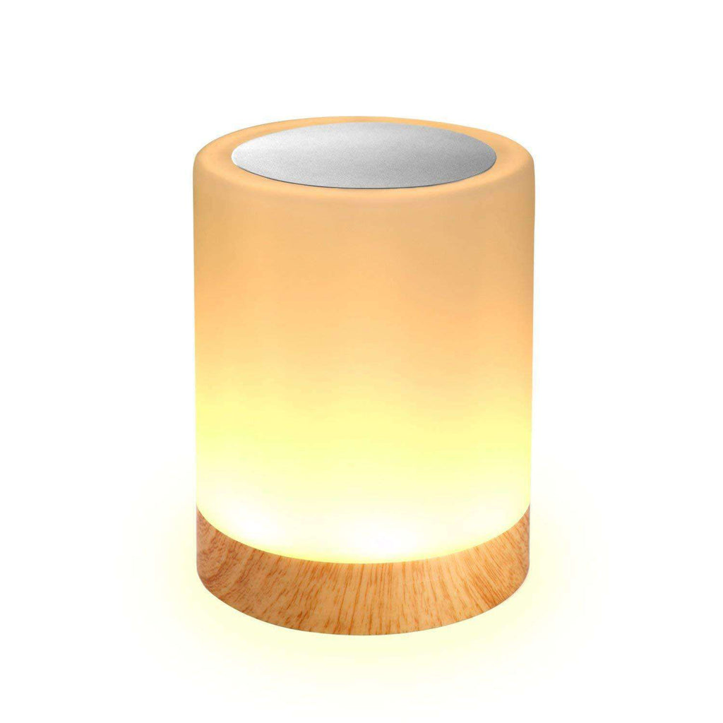 Touch Bedside Table Lamps Dimmable Color Changing for Bedroom Sleep Aid for Baby Perfect Gift - Elecstars.com