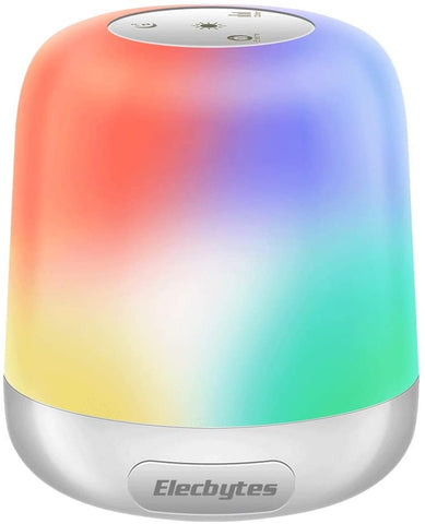 Touch Lamps for Bedrooms Portable Travel Touch Control Lamp for Outdoor USB Rechargeable Internal Battery Bedside Breath Lamp Dimmable Light 8 Colors RGB Colorful Camping Travel Hanging Lights