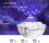 Star Projector Night Light, Galaxy Projector Lights with Bluetooth Speaker, 3 in 1 Music Starry Projector with LED Nebula Cloud Ocean Wave Projector Lights for Party Bedroom for Baby Adults Kids - Elecstars Capturing Stars in the Dream