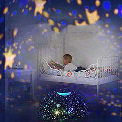 Star Projector Night Light Black Ceiling Starry Sky with Timer Remote And Chargeable - Elecstars Capturing Stars in the Dream