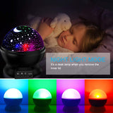Star Projector for Ceiling for Kids, Toddler Night Light Projector Moon and Star Night Light Projector of Baby Starry Cosmos 360 Degree Rotation 8 Light Color Changing Children Nursery Decor Black - Elecstars Capturing Stars in the Dream
