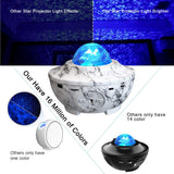 Smart Star Projector Lights, WiFi Galaxy Projector Light Work with Smart APP Aleax,16 Million Colors LED Nebula Cloud Ocean Wave Sky Projector Night Lights for Christmas Gifts Bedroom Kids Adults - Elecstars Capturing Stars in the Dream